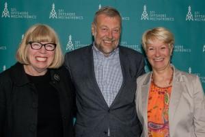 Torunn Lauvdal, Bjarne Skeie and Anne-Grete Ellingsen.