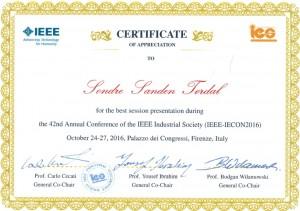 IECON-2016-Award